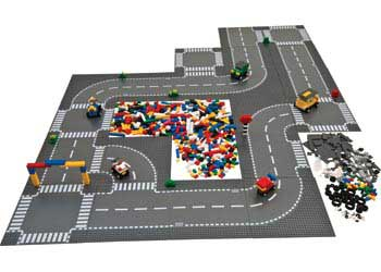 Lego Roadway Amp Vehicle Construction Set 1190 Pieces