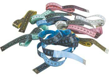 Metric Tape Measures 150cm – Pack of 10