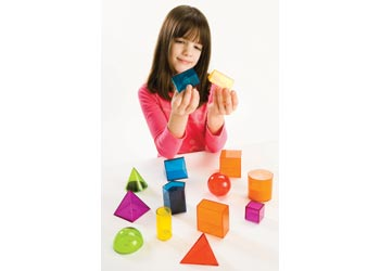 View-Thru Geometric Solids 14 Pcs