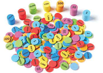 Place Value Discs – Set of 280