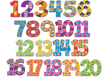 number puzzle cards 1 20 mta catalogue