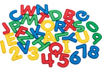 Transparent Letters – 26 pieces