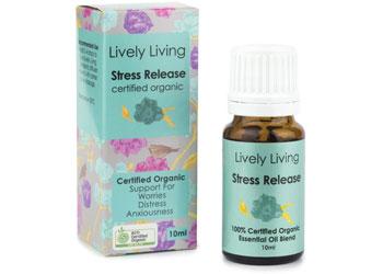 Stress Relief Organic Oil 10ml