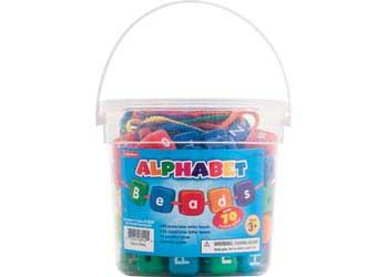 Chunky Alphabet Beads