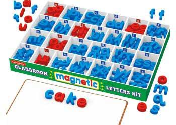 Lakeshore Classroom 240 Magnetic Letters Kit