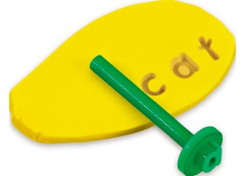 Lower Case Alphabet Dough Stampers
