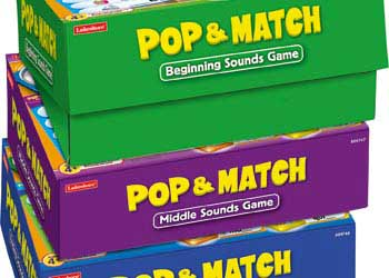 Pop Match Middle Sounds Game Box
