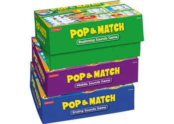 Pop Match Ending Sounds Game Box