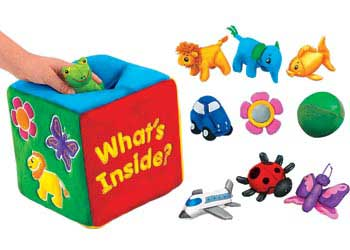 Lakeshore What's Inside? Soft Feely Box
