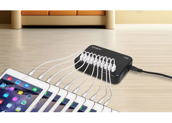 120W 10 Port USB charger