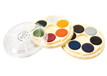 Koh-I-Noor Brill Watercolour Paint Discs 12 Colour