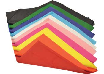 Coloured Tissue Paper – Pack of 100