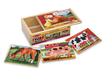 M&D – Farm Jigsaw Puzzles In A Box