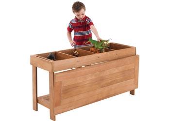 Harmony U2013 Outdoor Wooden Sorting Table U0026 Lid U2013 120 X 40 X 60cm