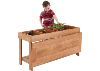 Beautiful Outdoor Wooden Sorting Table U0026 Lid U2013 60cm High   Sand U0026 Water Tables