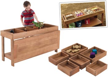 Harmony U2013 Outdoor Sorting Table And Boxes Set   Sand U0026 Water Tables