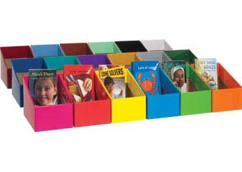 Chapter Book Boxes 18 Colours