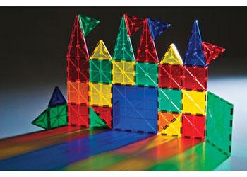 Translucent Magnetic Tiles Construction Set – 32 pieces