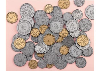 Plastic Coins – Australian Currency
