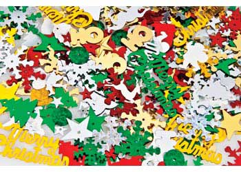 Christmas Sequins Mix in a Jar 55g