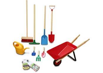 Nyby Gardening Set Of 11   Garden Tools