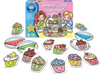 Orchard Toys – Where's My Cupcake?
