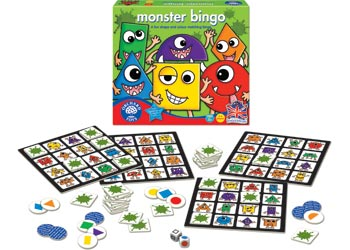 Orchard Toys – Monster Shape and Colour Bingo