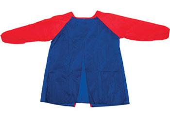 Red Purple Kids Apron PVC Apron Nursery aprons painting play dough time