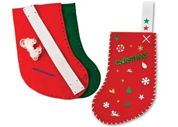 diy christmas stocking kit makes 10
