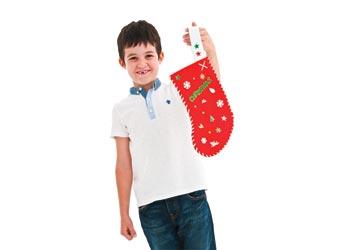 Diy Christmas Stocking Kit Makes 10 Mta Catalogue