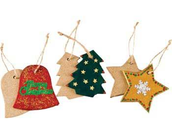 Christmas Papier Mache Tags Assorted Pack Of 12 Kesco Nz Catalogue