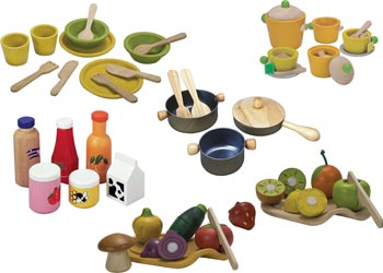 plan toys u2013 wooden food set plan toys