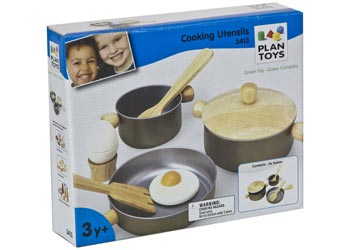 PlanToys – Cooking Utensils