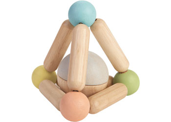 Plan Toys – Triangle Clutching Toy Pastels