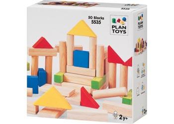 PlanToys – 50 Blocks