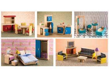 PlanToys U2013 Neo Furniture Set   Doll House Furniture