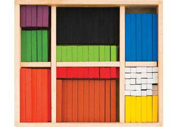 Cuisenaire Learning Rods –  222pc
