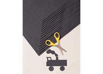 Black Card 210gsm (51 x 64cm) – Pack of 50