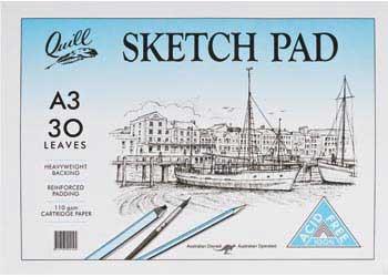 Sketch Pad 110gsm A3 – 30 Sheets