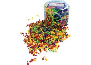 Small Pegs In Jar – 2350 Pegs