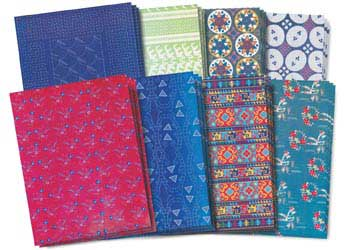 Asian Textile Paper – Pack of 32