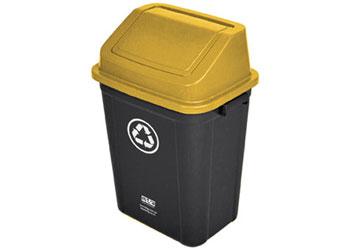 Recycling Bin – 30 litre – Yellow - MTA Catalogue