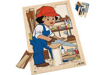Life Wooden Puzzle – Woodworking