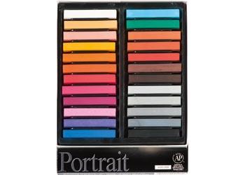 Soft Pastels Portrait – Pack of 24