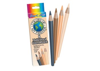 Sargent Art Multicultural Coloured Pencils PK8