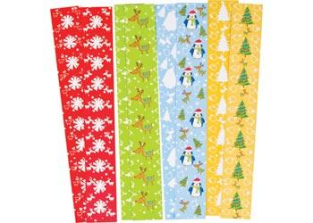 Christmas Paper Chains w/Adh Asst Print PK200 - MTA Catalogue