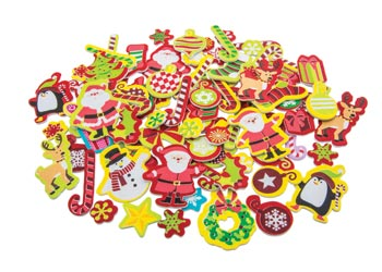 Adhesive Christmas Foam Stickers Pack Of 92 Mta Catalogue