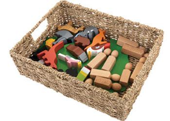 Storage Basket – Seagrass 25.5w x 35d x 10.5cm high