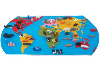 Maps hsie world map with wooden figures 60 pieces maps gumiabroncs Gallery