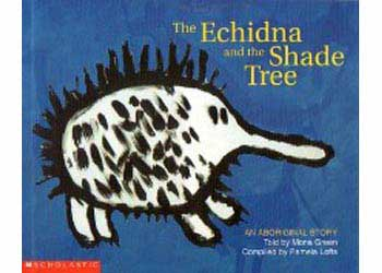 Aboriginal Story Echidna And The Shade Tree Mta Catalogue